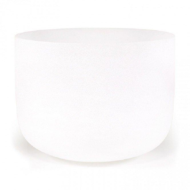 Kristallen klankschalen wit