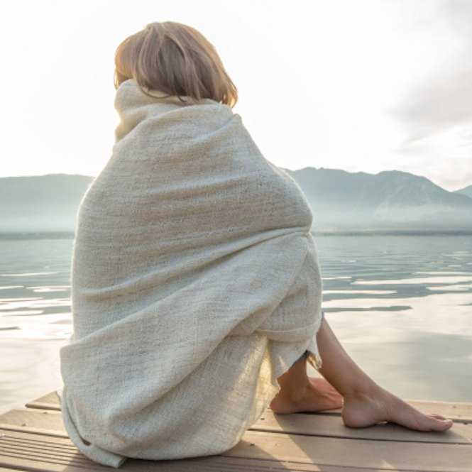 Meditatie Omslagdoeken